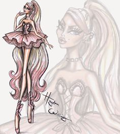Couture Ballet by Hayden Williams: 'Pretty En Pointe'  March 2015
