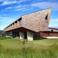 Refugia Hotel by MOBIL Arquitectos in Chiloe, Chile #architecture #archdaily #chile #instagood #iphonesia #igdaily #buildings