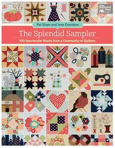 The Splendid Sampler book - April 2017