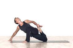 monkey pose (www. Monkey Pose, Asana, Treadmill, Harem Pants, Poses, Yoga, Gym, Figure Poses, Harem Jeans