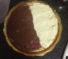 Ricetta Pan di spagna con nutella e cioccolato bianco