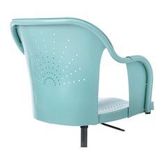ROBERGET Swivel chair - turquoise, - - IKEA