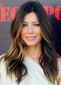 What do people think of Jessica Biel? See opinions and rankings about Jessica Biel across various lists and topics. Oval Face Hairstyles, Pretty Hairstyles, Celebrity Hairstyles, Hair Styles 2014, Long Hair Styles, Brown Hair With Blonde Highlights, Blonde Tips, Long Layered Haircuts, Layered Hairstyles