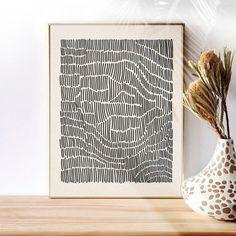 Diy Wall Art, Modern Wall Art, Diy Art, Cuadros Diy, Minimalist Art, Geometric Art, Line Drawing, Home Art, Graphic Art