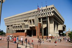 The Boston City Hall
