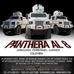 Armored Vehicles Colombia