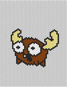 Invader Zim Moose bead pattern