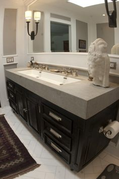 genius sinks options for small bathrooms | trough sink, vanity
