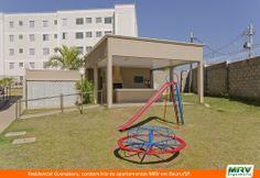 Paisagismo do Guanabara. Condomínio fechado de apartamentos localizado em Bauru / SP.