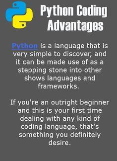 Udemy coupon:Python Coding Advantages #pythoncourses
