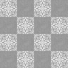 Textures Texture seamless | Victorian cement floor tile texture seamless 13825 | Textures - ARCHITECTURE - TILES INTERIOR - Cement - Encaustic - Victorian | Sketchuptexture