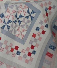 Pinwheel quilt by Ginny Worden