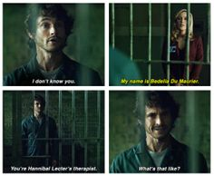 HANNIBAL 2X2 Hugh Dancy, with those lines around his mouth.  He is like a fine wine.