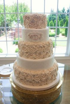 amazing wedding cakes pictures | Buttercream roses - Amazing Wedding Cakes and Sculpted