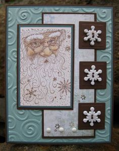 Old Man Winter by catcrazy - Cards and Paper Crafts at Splitcoaststampers
