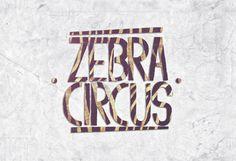 ZEBRA CIRCUS © MUSIC BAND - LOGO by Rojas