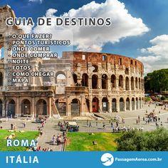Vai viajar pra Roma ou tem vontade de conhecer?  Acesse o Guia e saiba todos os detalhes para aproveitar o máximo sua viagem.  http://www.passagemaerea.com.br/destinos/internacionais/europa/italia/roma  #roma #italia #promocao #viagem #turismo