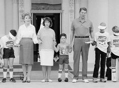 "Oh my gosh!  I forgot I participated in ""Hands Across America.""  I never realized Ronald and Nancy Reagan also participated."