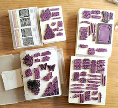 Interesting information about using clear stamps.