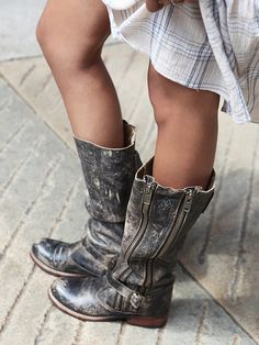 Free People Davi Distress Tall Boot, £248.00