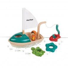 Barco de pesca para el baño