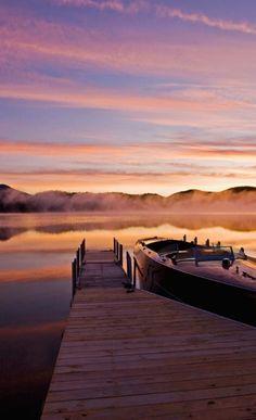 Lake Placid sunsets