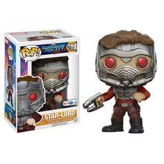 Funko Pop! Star-Lord Action Pose, Guardians of the Galaxy, Guardiões da Galáxia, Marvel, Toys R Us Exclusive, Funkomania, Quadrinhos