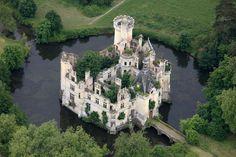 Château de la Mothe-Chandeniers,Pays de la Loire, France