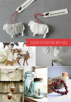 DIY Holiday Decorating with Kids - Awesome And Inspiring Article by Ginny Branch