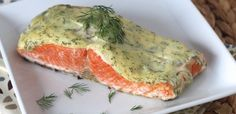 #paleo PaleOMG 5 Ingredient 10 Minute Creamy Dill Salmon