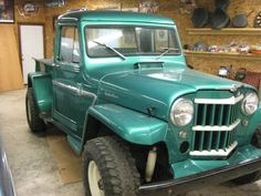Old Jeep, Jeep Jeep, Jeep Truck, Jeep Pickup, Pickup Trucks, Willys Wagon, Jeep Willys, Classic Trucks, Classic Cars