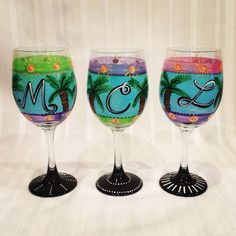 our caribbean inspired glassware brings sunshine to any winter day.