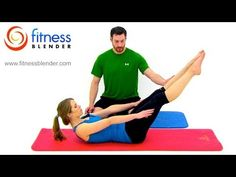 Pilates Abs and Obliques, Workout - 26 Minute Fitness Blender Online Pilates Class