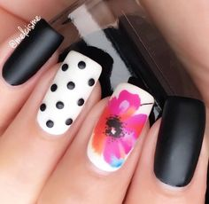Nail art is a very popular trend these days and every woman you meet seems to have beautiful nails. It used to be that women would just go get a manicure or pedicure to get their nails trimmed and shaped with just a few coats of plain nail polish. Simple Nail Art Designs, Toe Nail Designs, Easy Nail Art, Cool Nail Art, Bright Nail Designs, Diy Nails, Cute Nails, Uñas Fashion, Nail Polish