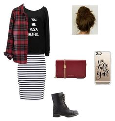 """""""fall outfit ❤️❤️"""" by katiedawn0801 on Polyvore featuring A.L.C., Madewell, Charlotte Russe, Marc Jacobs and Casetify"""