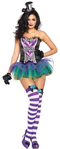 Tempting Mad Hatter Sexy Costume