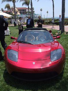 Tesla ZEV Roadster- looks exactly like Steve's car!!