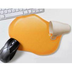オレンジジュース マウスパッド