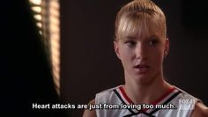 Brittany S. Pierce in 'Glee'.