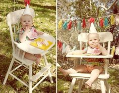 Love this little girls first birthday! idea for Em's first. gretchenjg