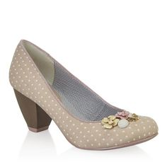 CARLA (Beige) - Shoes - By Ruby Shoo Ruby Shoo afda454000