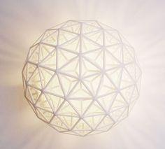 sacred geometry lamp