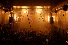 Trow, also in Amsterdam, is an old printing warehouse that was converted into a club. The sound system and light show do not disappoint. #Travel #Europe #NewYearsEve #Amsterdam #Netherlands