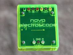 Nova electroscope by Stephen Ecob — Kickstarter.  An affordable oscilloscope and signal generator for your iPad - open your eyes to the fun of home electronics!