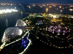 Singapore  Captured from Marina bay sands rooftop