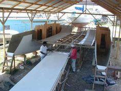 Building a Catamaran in Trinidad Ocean Cruise, Sail Away, Boat Design, Boat Building, Yachts, Trinidad, Sailing Ships, Boats, To Go