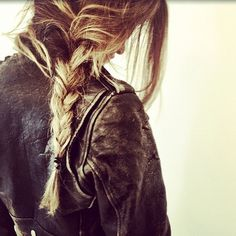 leather and braids