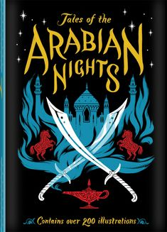 Book Cover Illustration for 'Tales of the Arabian Nights'. © Jim Tierney 2012
