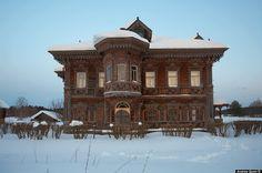 Palacio de madera de Chukhloma (Kostroma-Rusia) Siglos XIX-XX