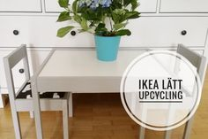 ikea l tt kindertisch und st hle upcycling pinterest ikea hack diy furniture and baby zimmer. Black Bedroom Furniture Sets. Home Design Ideas